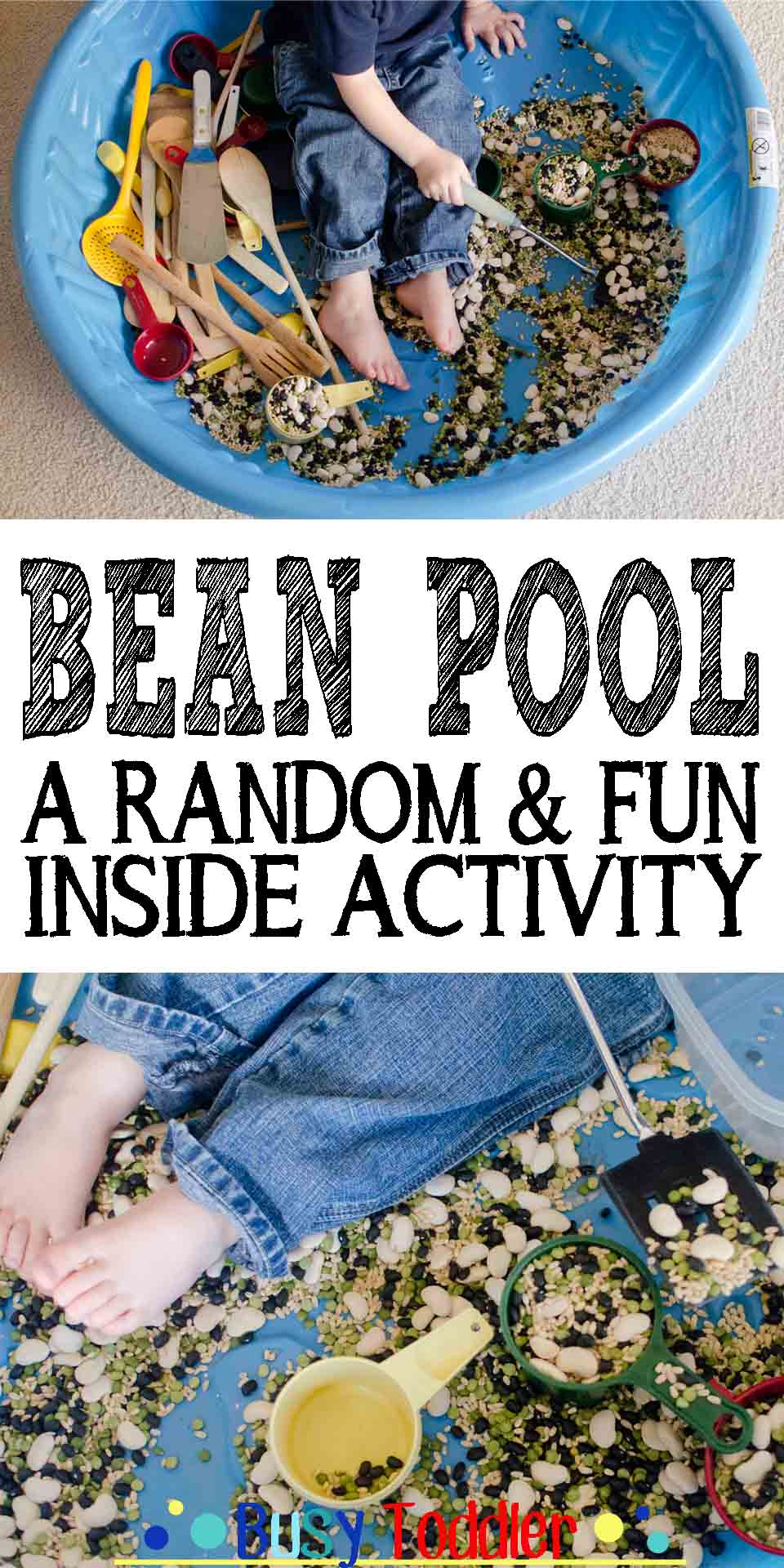 Bean Pool: a random, fun indoor activity