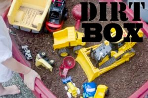Dirt Box: A fun alternative to sand boxes