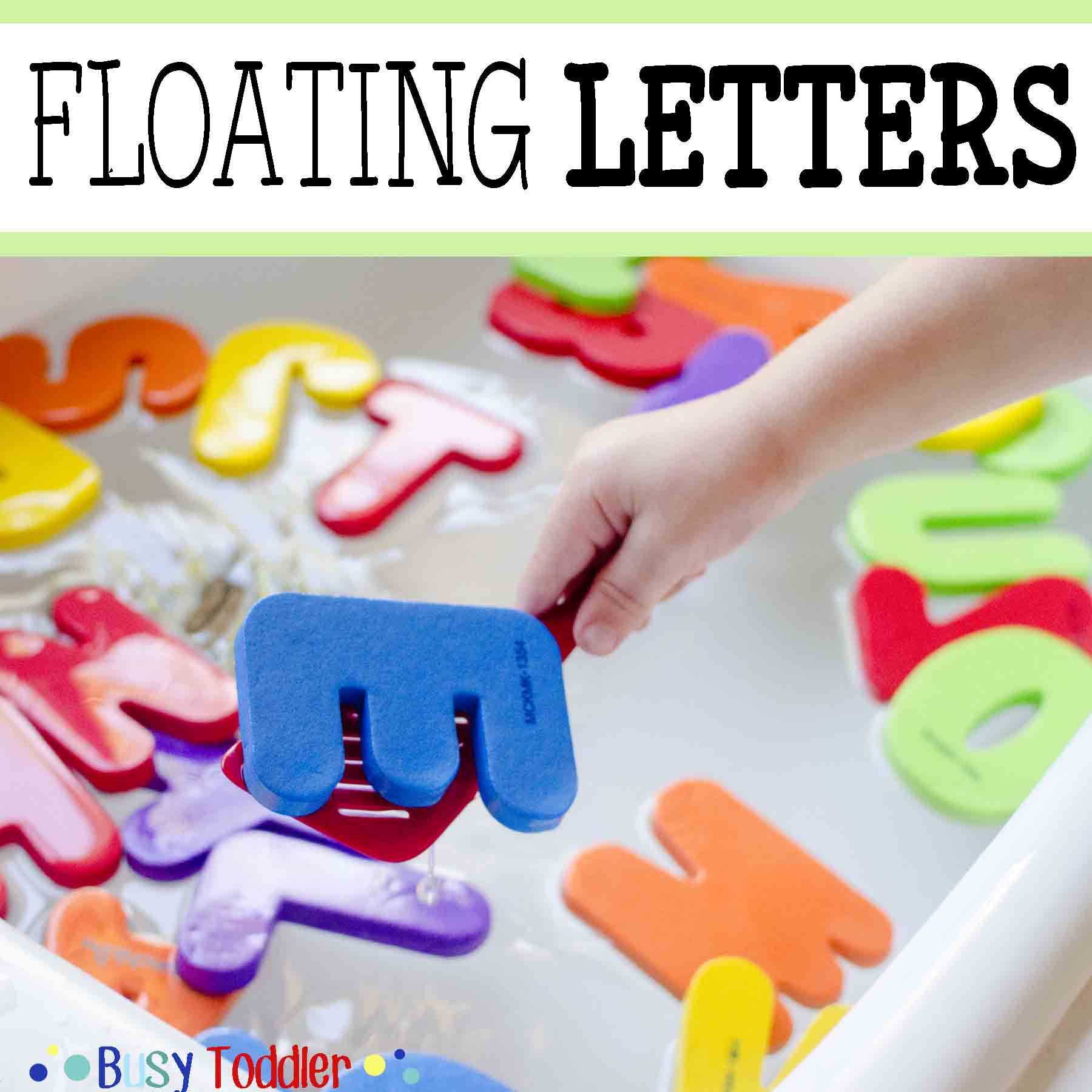 Floating Letters