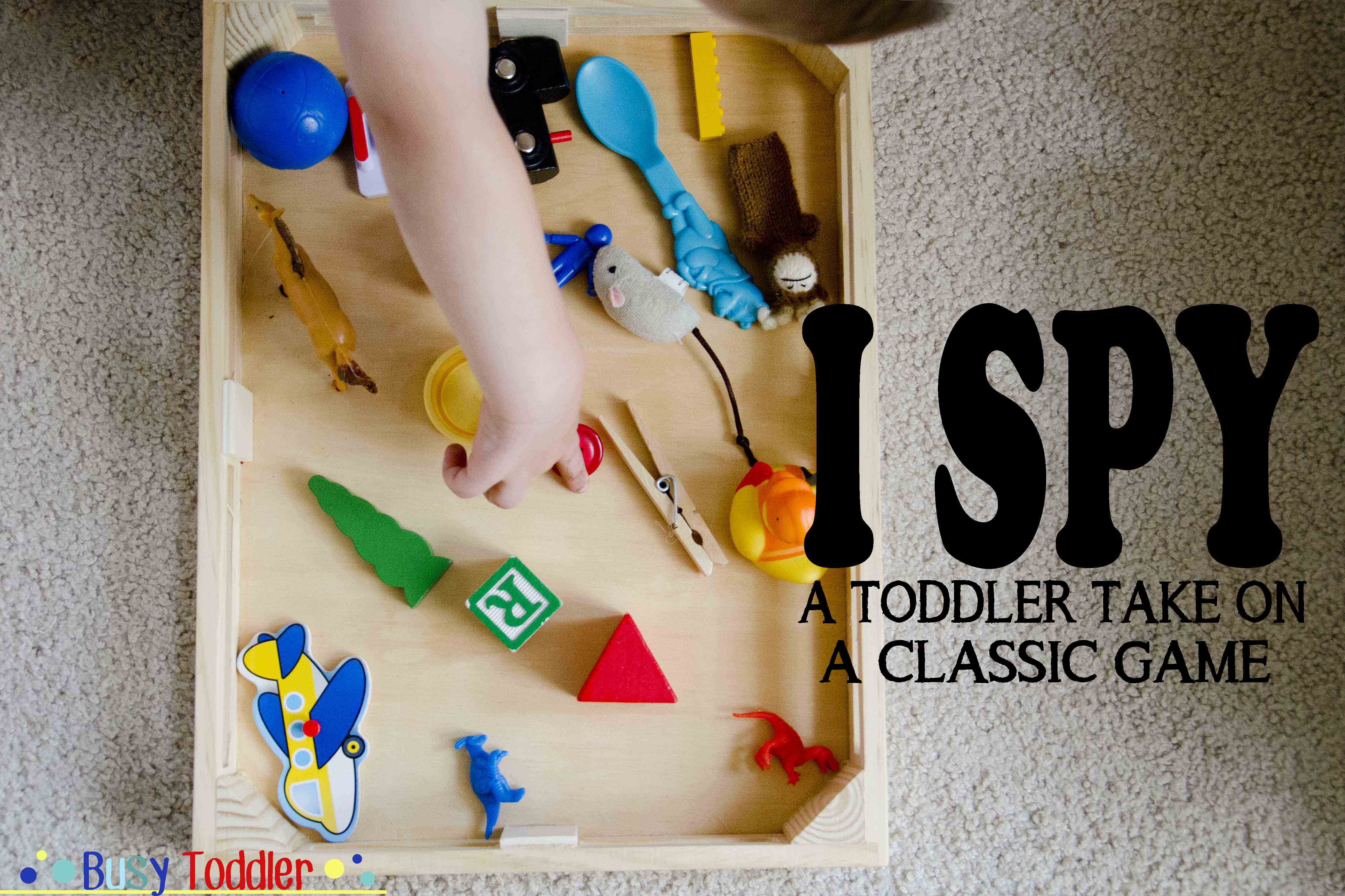 I Spy: a toddler take on a classic game