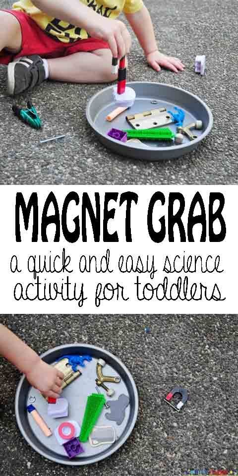 A quick and easy science activity for toddlers