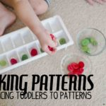 Introducing Patterns to Toddlers & Preschoolers