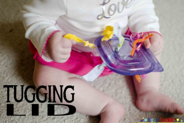 Tugging Lids: The Baby version of a Tugging Box