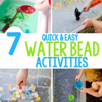 Water Bead Activities You've Gotta Try