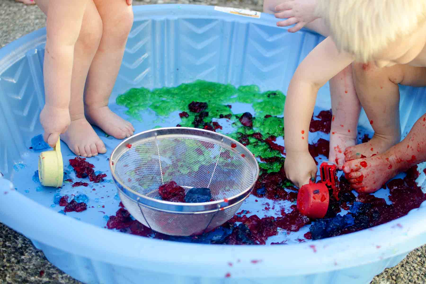 Jell O Pool Party Busy Toddler