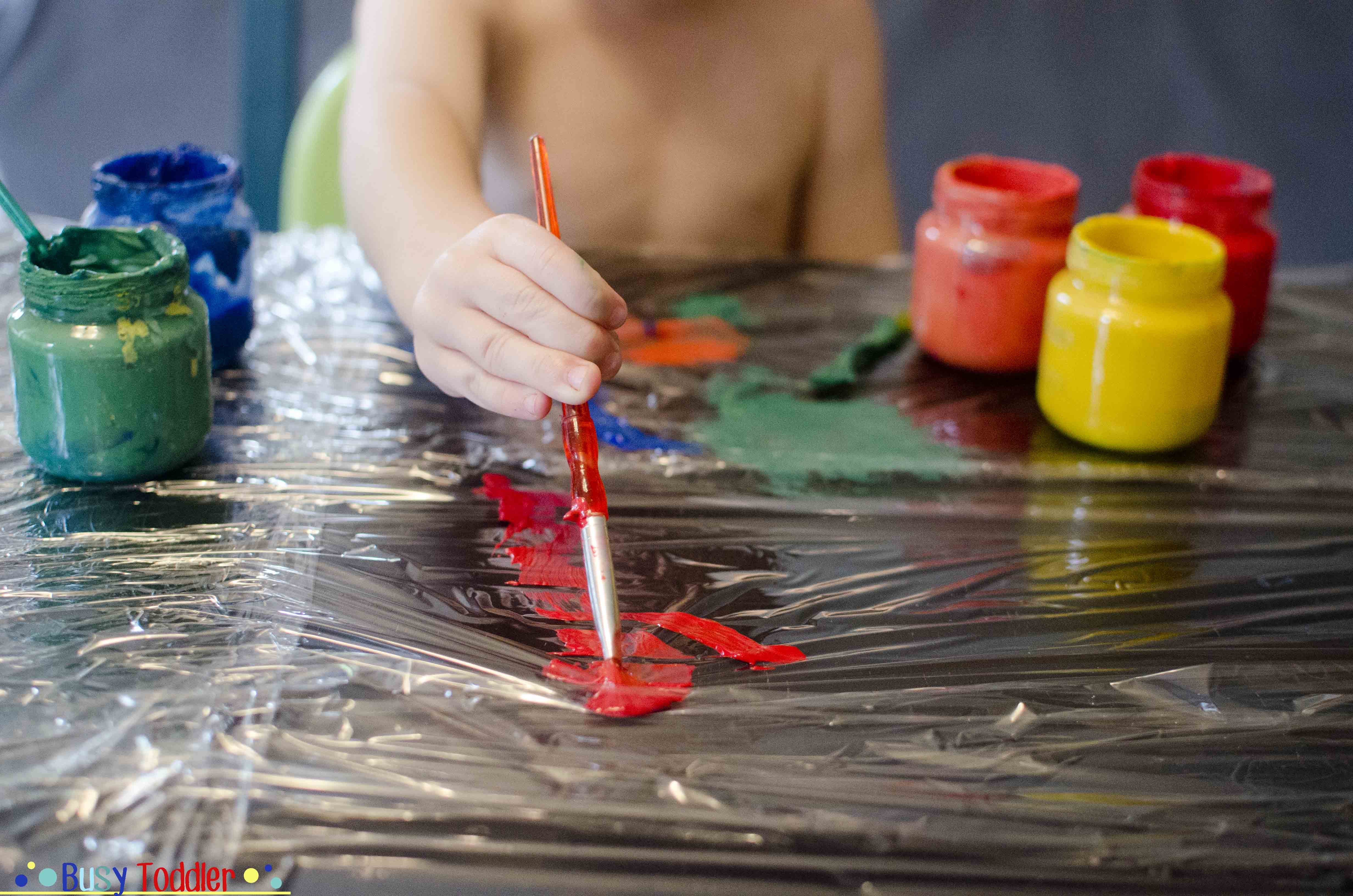 Painting with Toddlers: Tips and Tricks