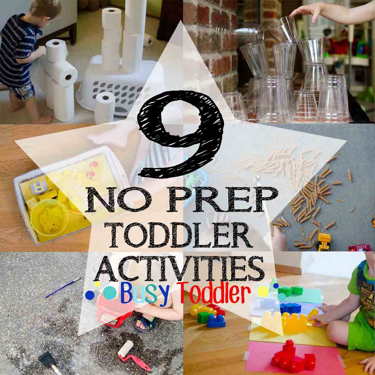 9 quick and easy activities for toddlers to play at home