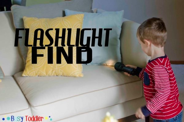 Flashlight Find: a no-prep, fun to play I-spy activity