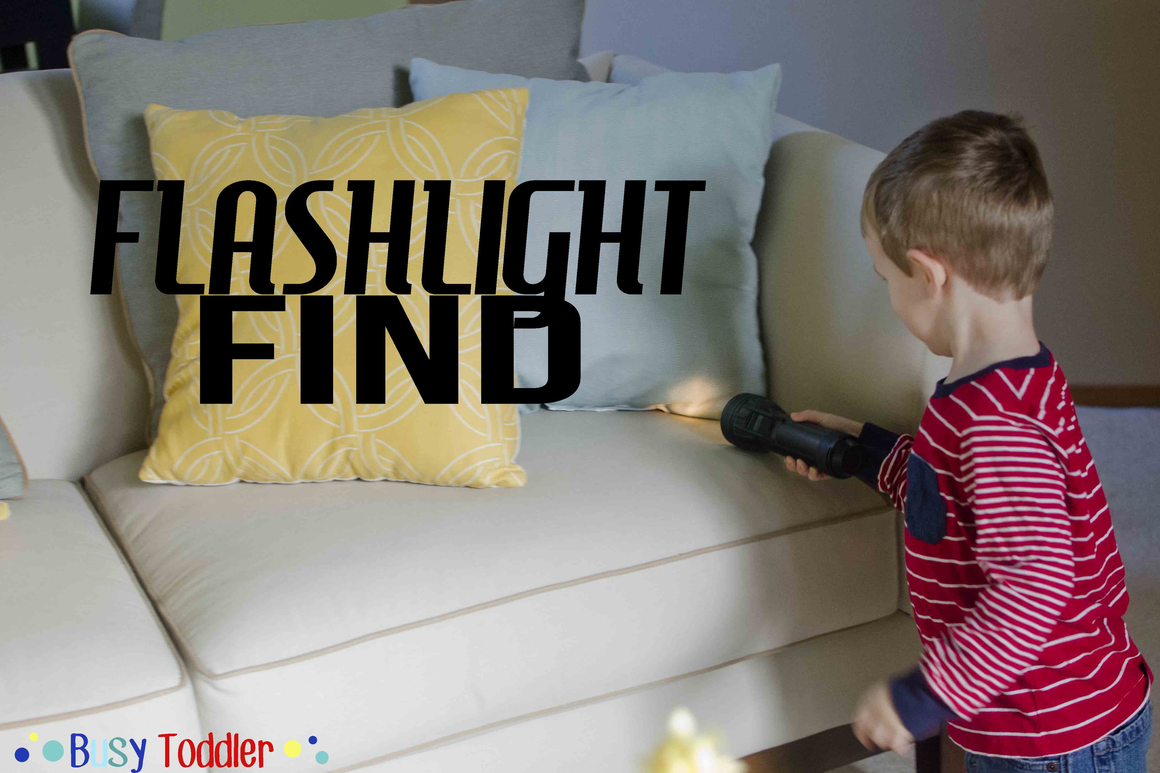 Flashlight Find Easy Play Activity