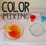Color Mixing Science Station