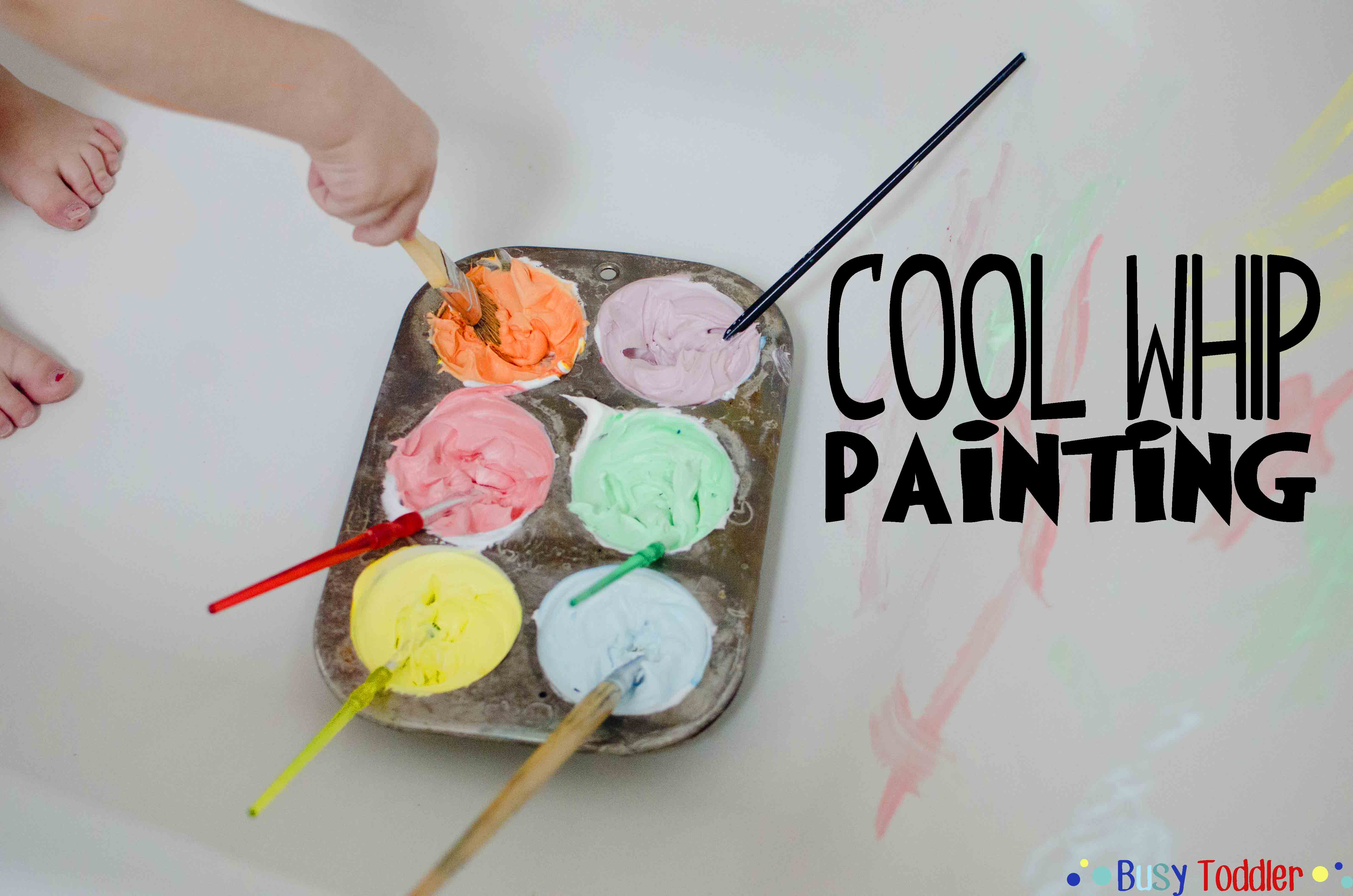 Cool Whip Painting