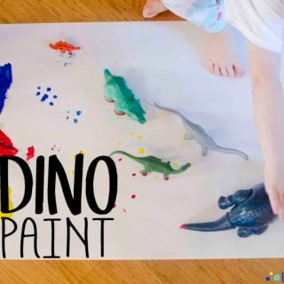 Dino Paint Art Activity