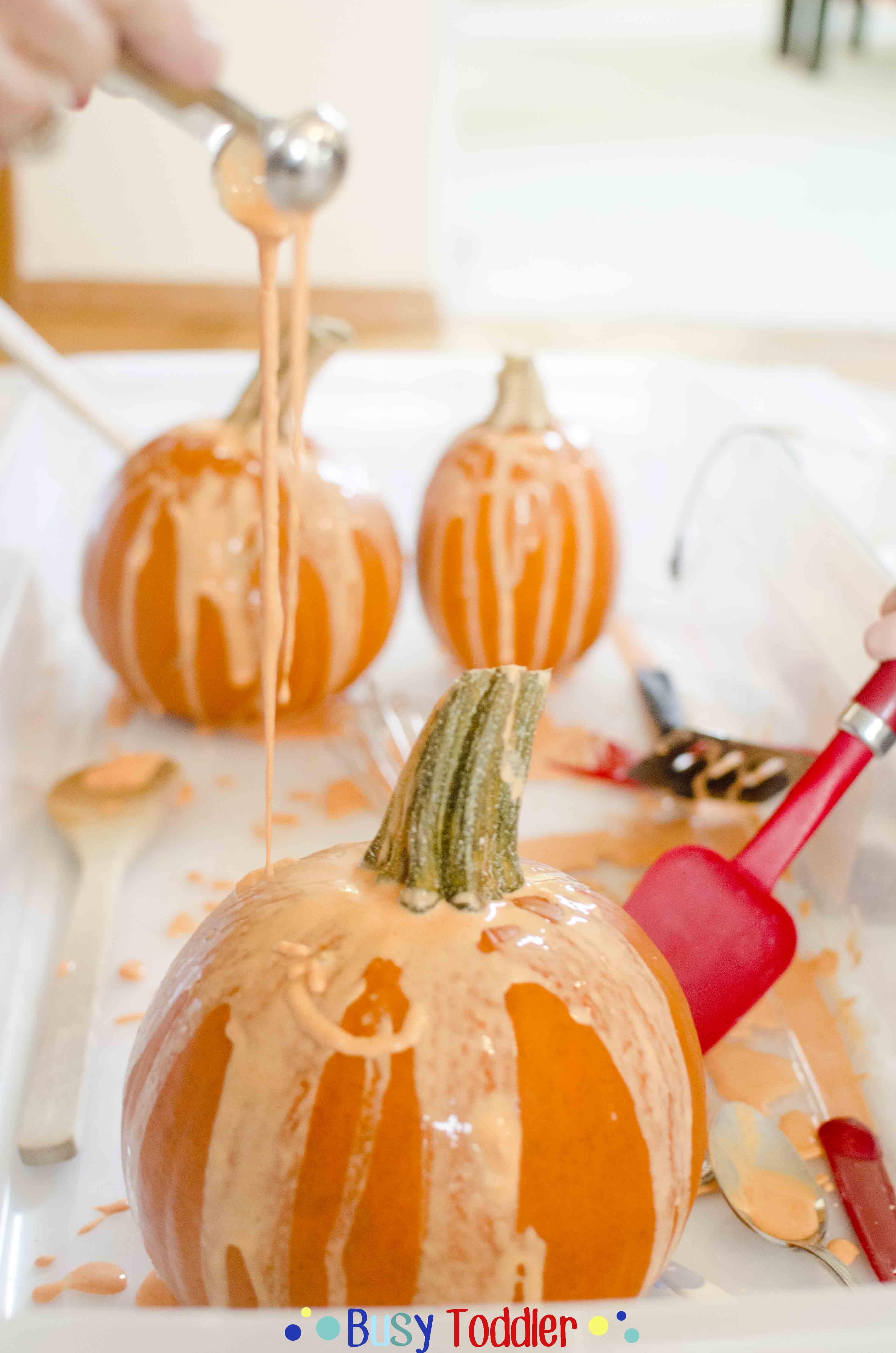Pumpkin Gak: A fall inspired sensory activity
