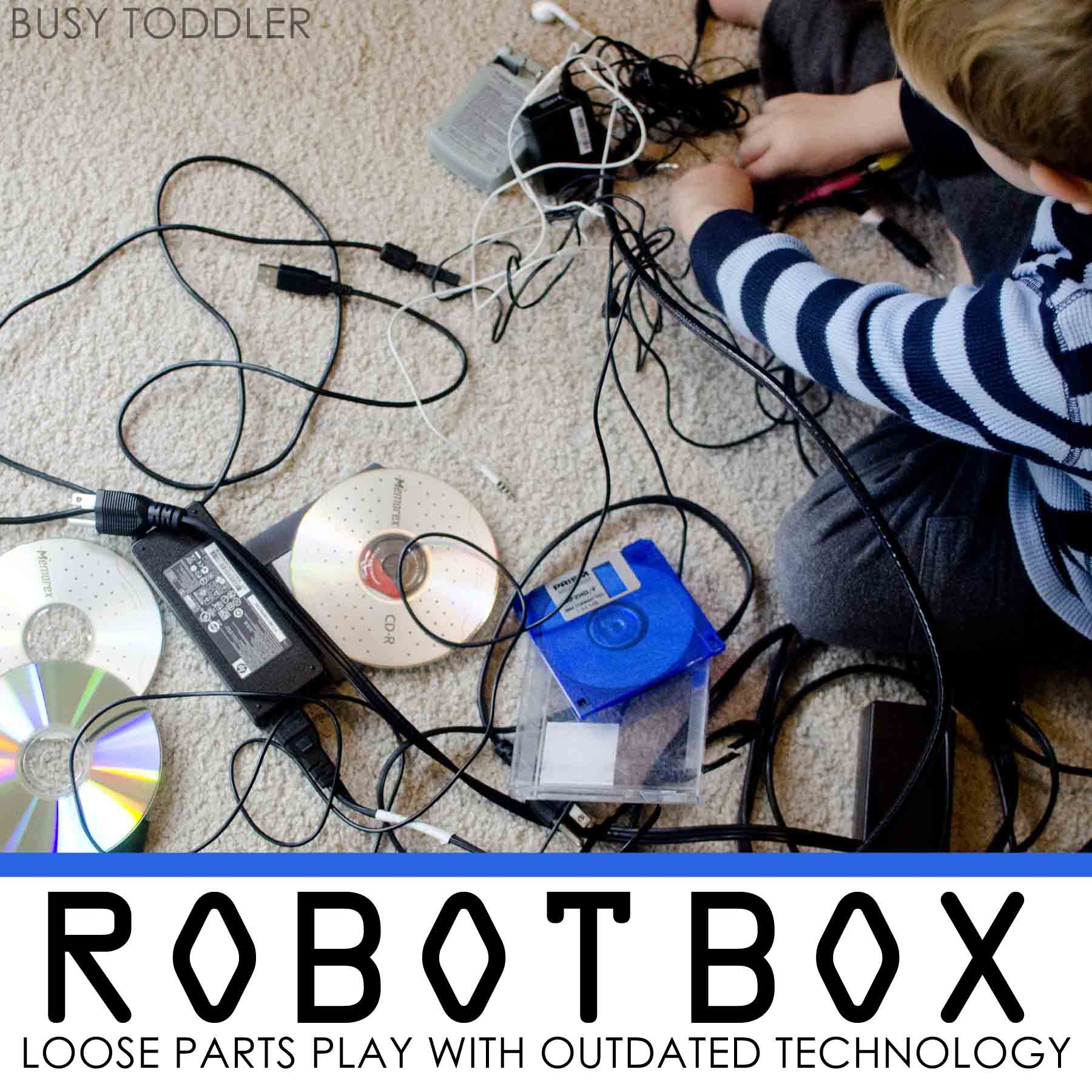 Robot Box Loose Parts Bin