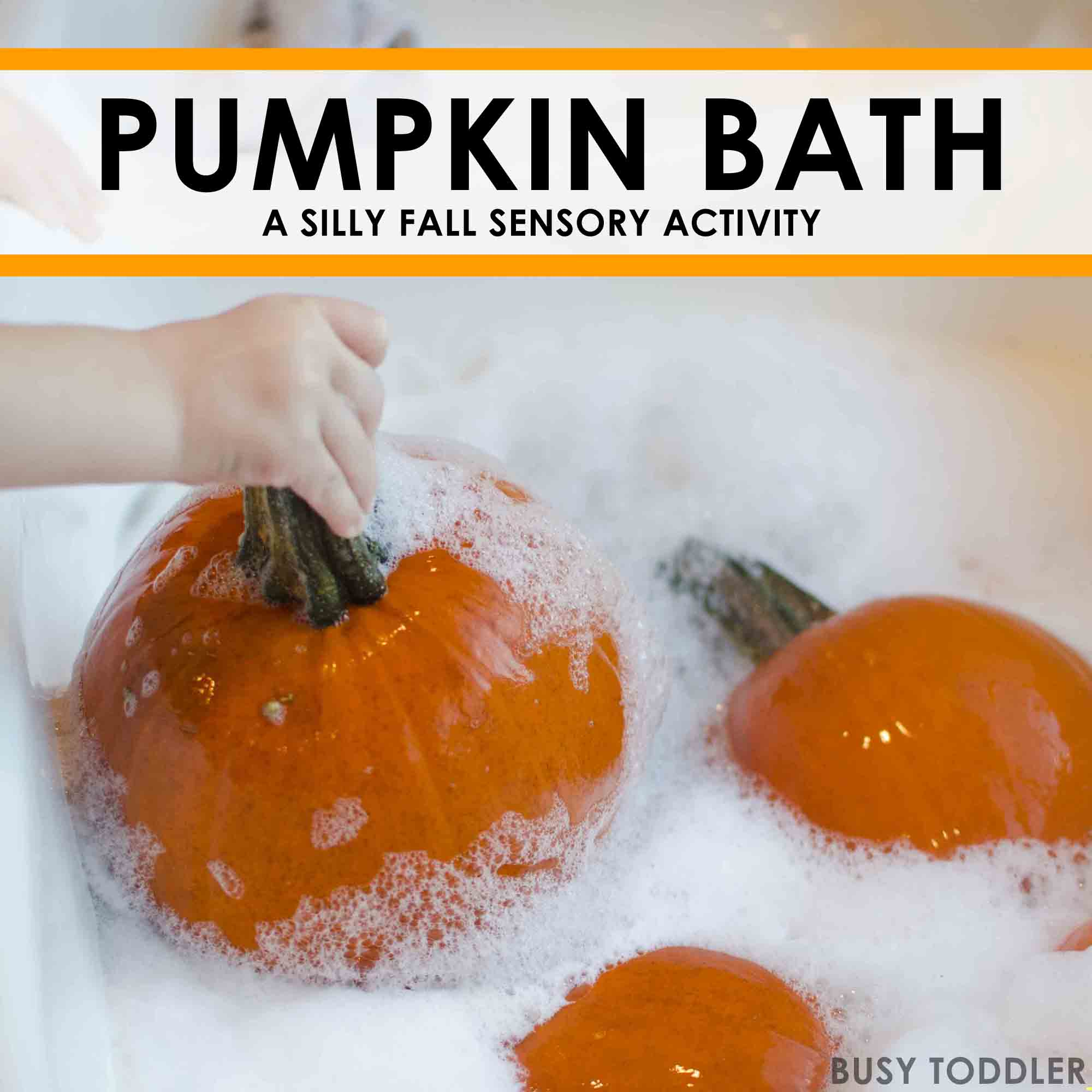 Pumpkin Bath