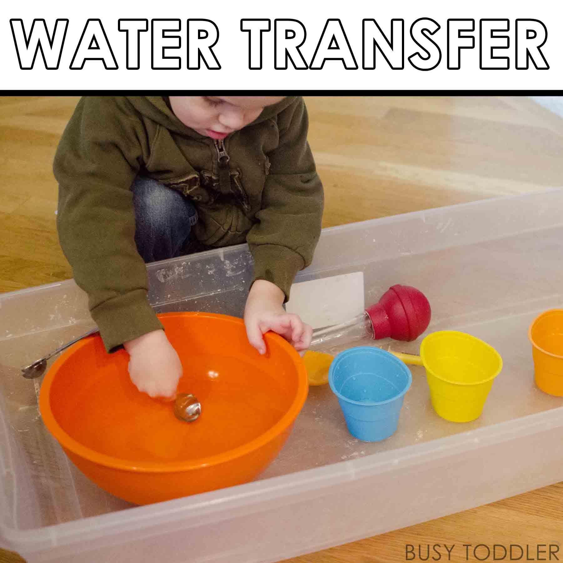 Water Transfer Play Station