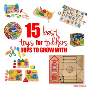 TOYS FOR TODDLERS: 15 of the absolute best toys for toddlers; long lasting toys for toddlers to grow with; toddlers will love these toys that they can play with for years;