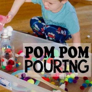 Pom Pom Pouring Station