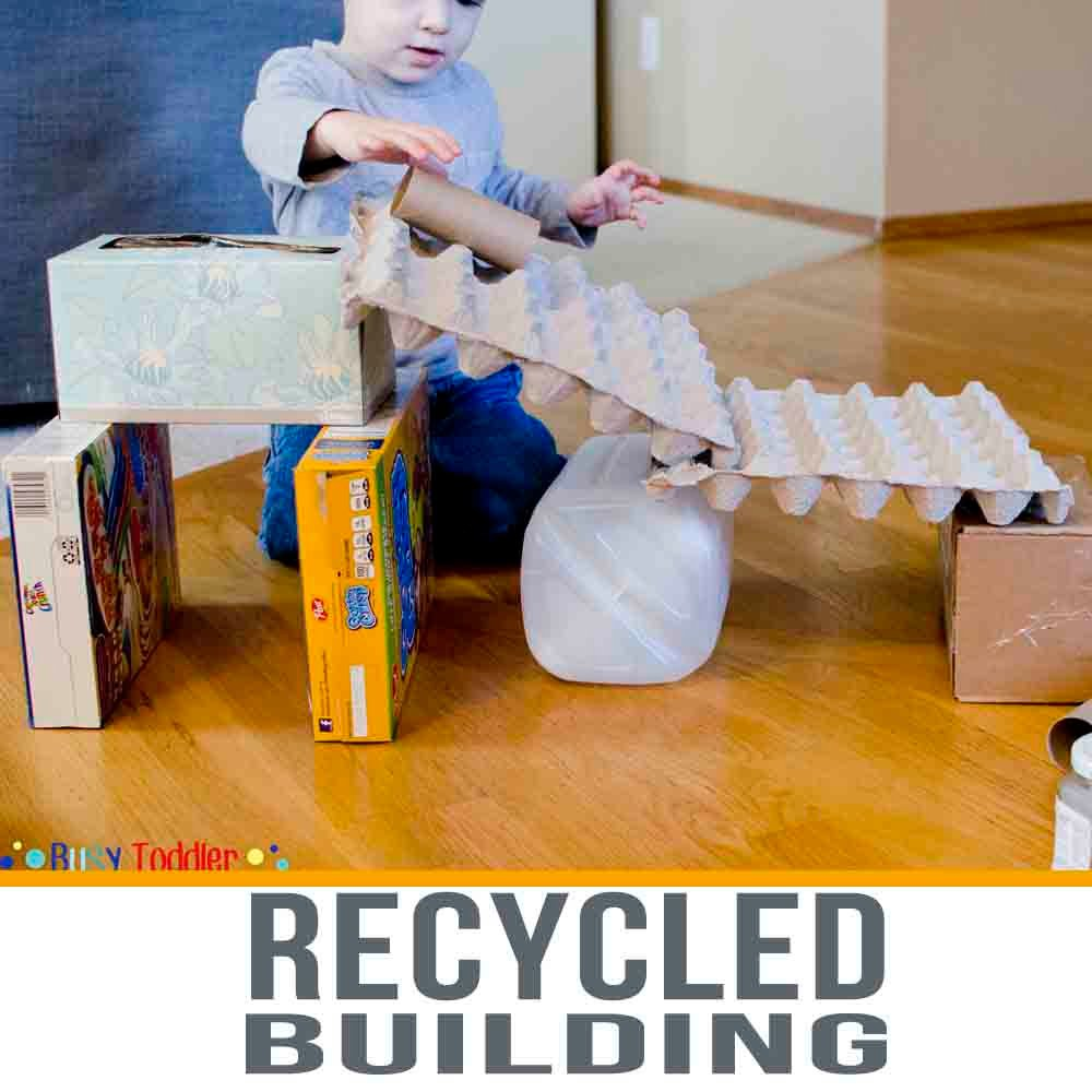 Recycled Building STEM Activity