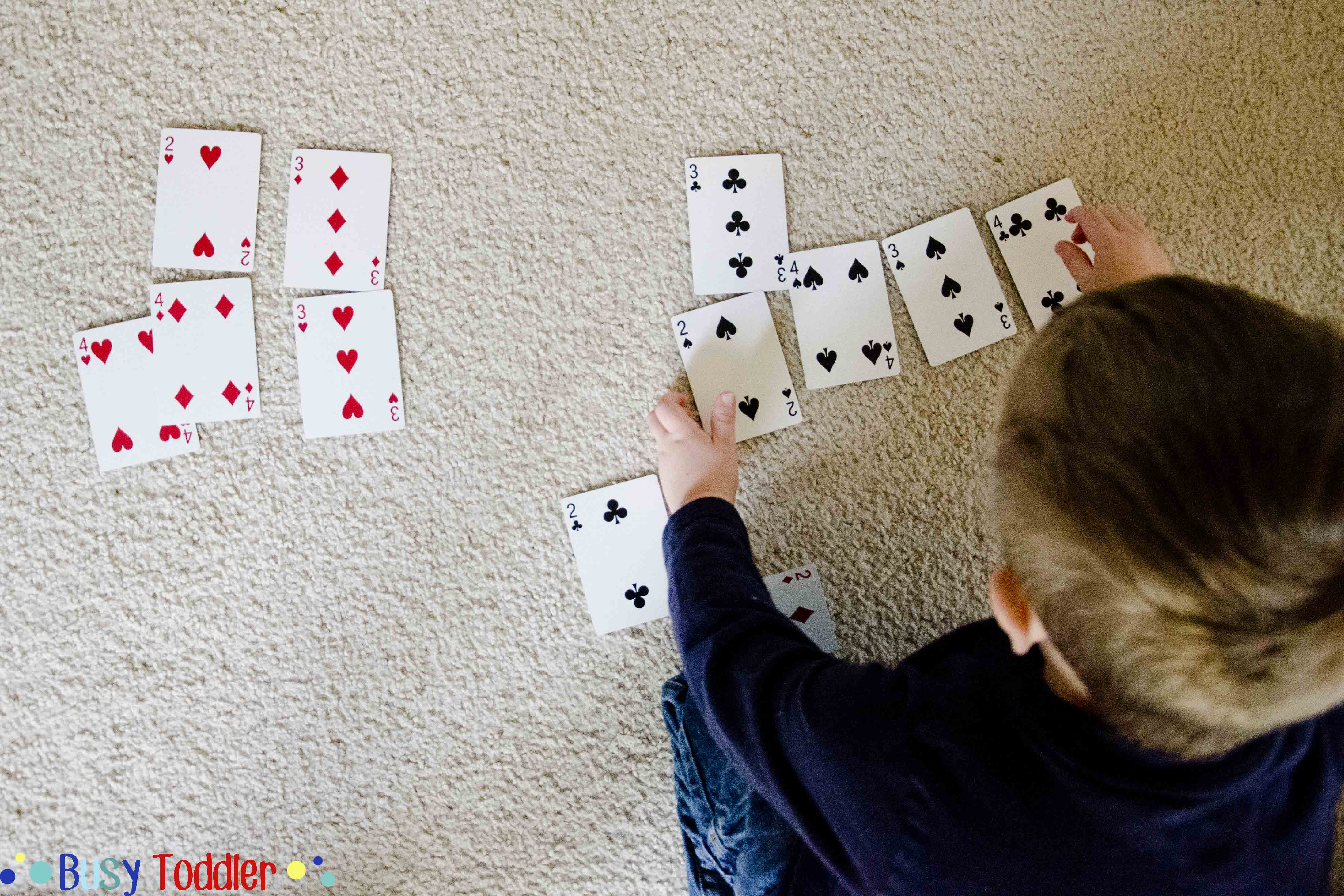 4 Simple Card Games Busy Toddler