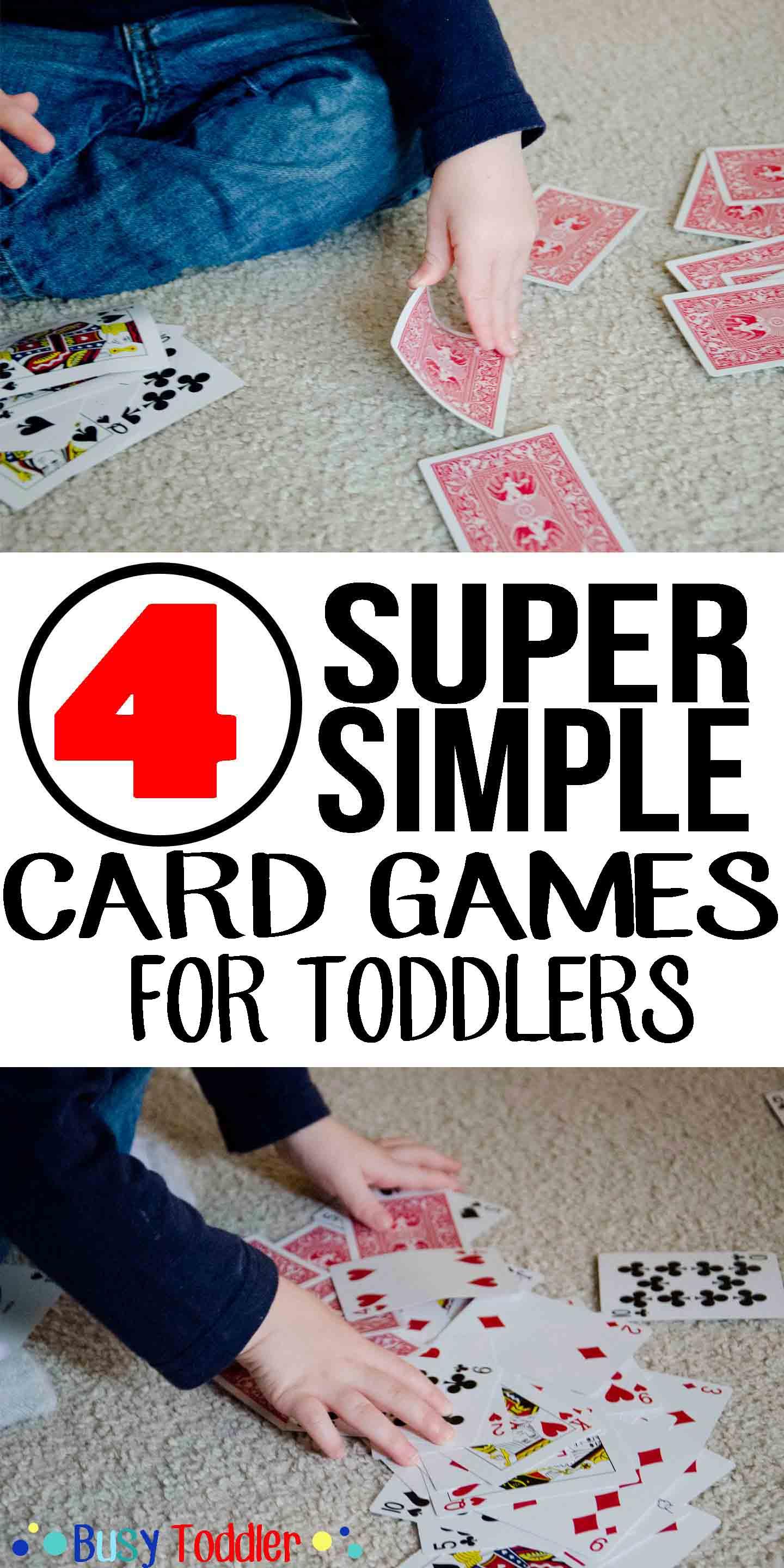 CARD GAMES: 4 super simple card games to play with your toddler