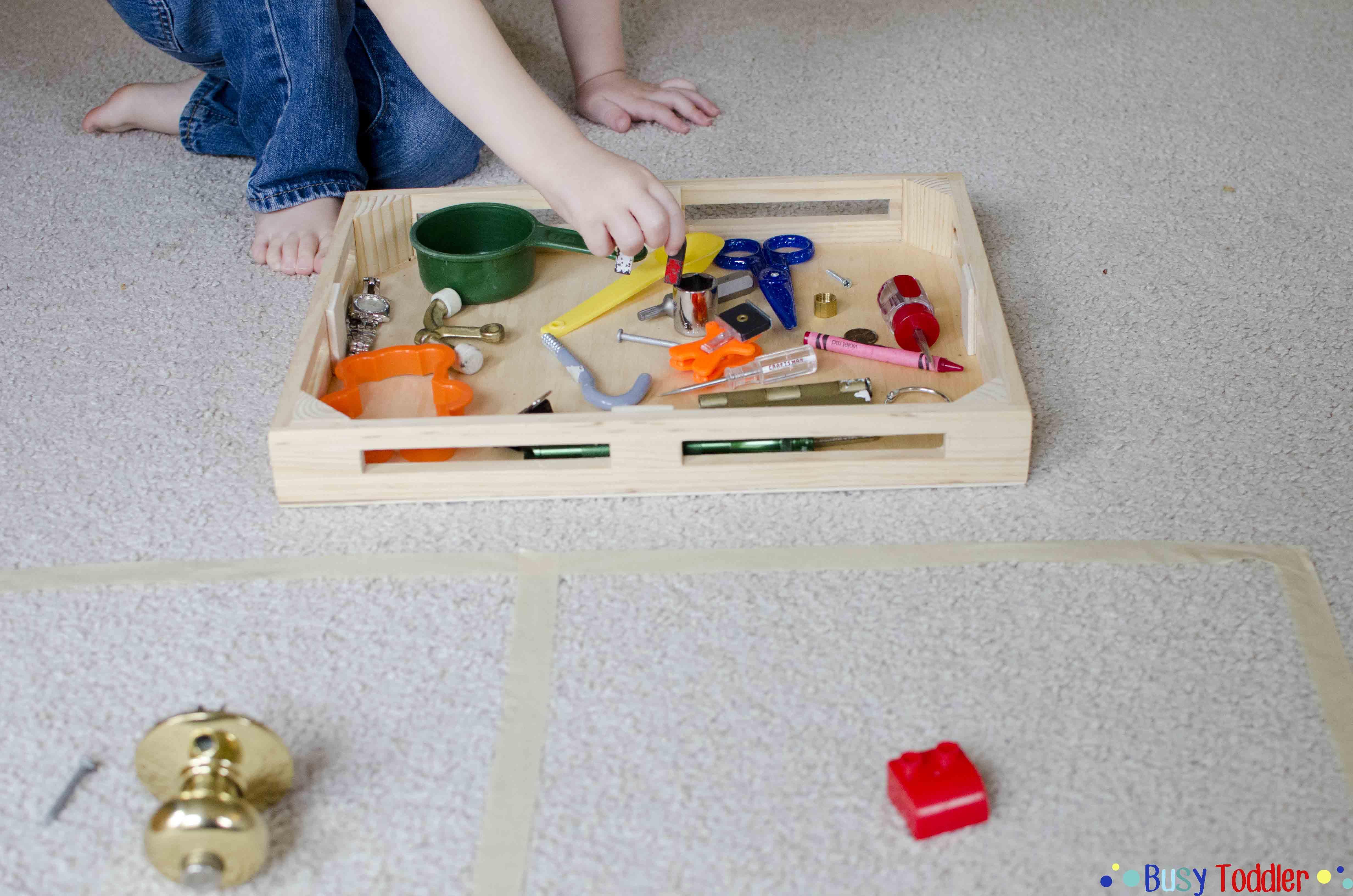 MAGNET SORT: A fun toddler STEM activity
