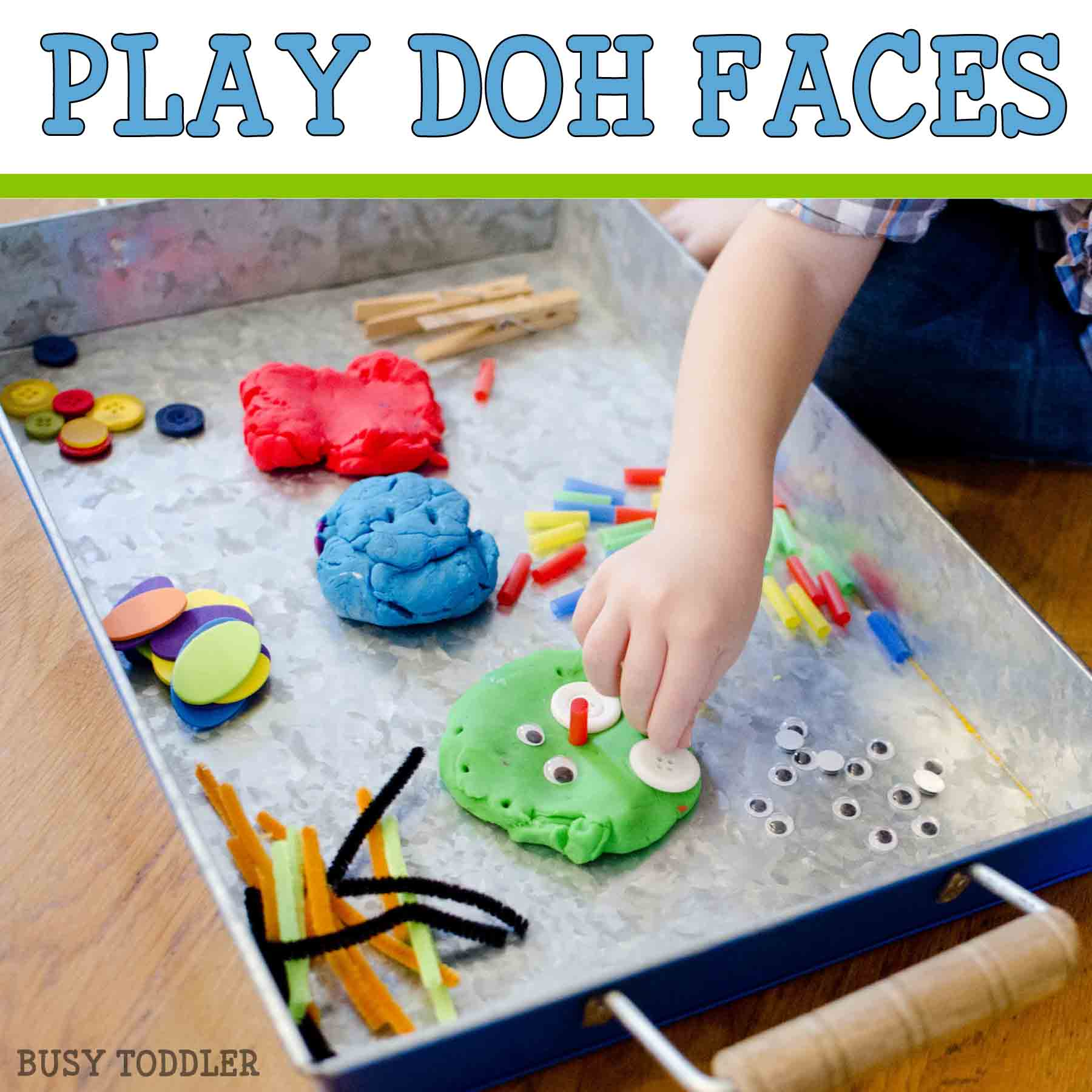 PLAY DOH FACES