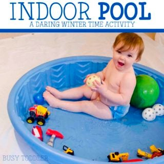 Indoor Pool: Toddler Activity Fun