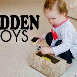 Hidden Toys Baby Activity