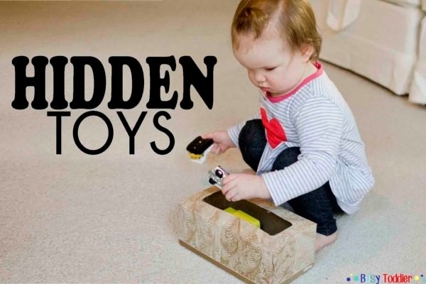 Hidden Toys: A Simple Activity for Baby to Play