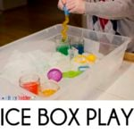 Ice Box: Chilly Fine Motor Skills Play