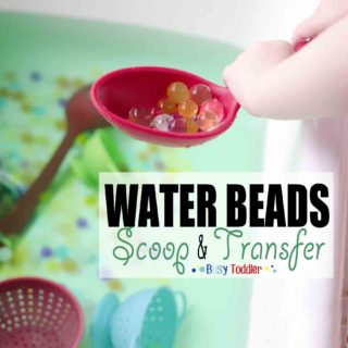 Water Beads Scoop and Transfer