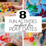 8 Messy Play Date Activities