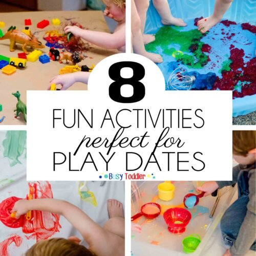 MESSY PLAY DATE: 8 awesome and messy play date activities