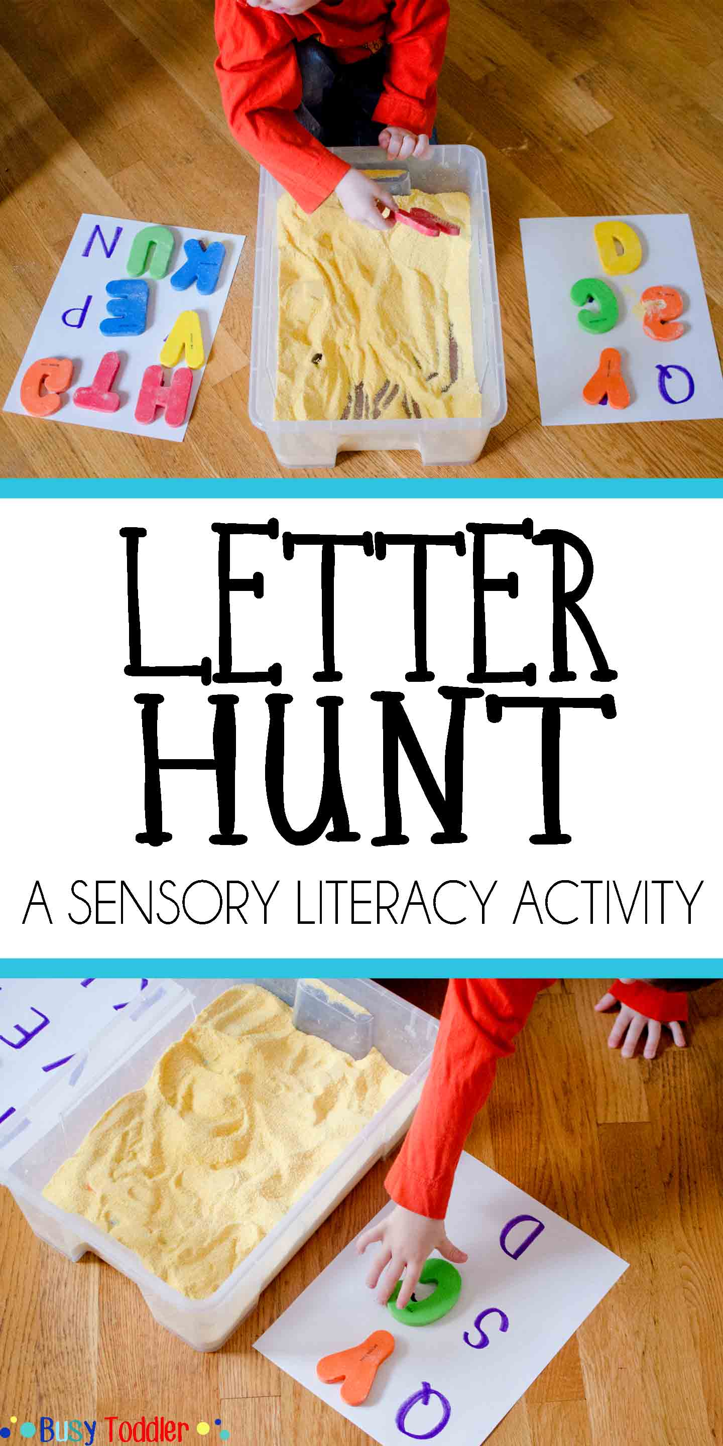 preschool literacy activities letter hunt for early literacy busy toddler 837