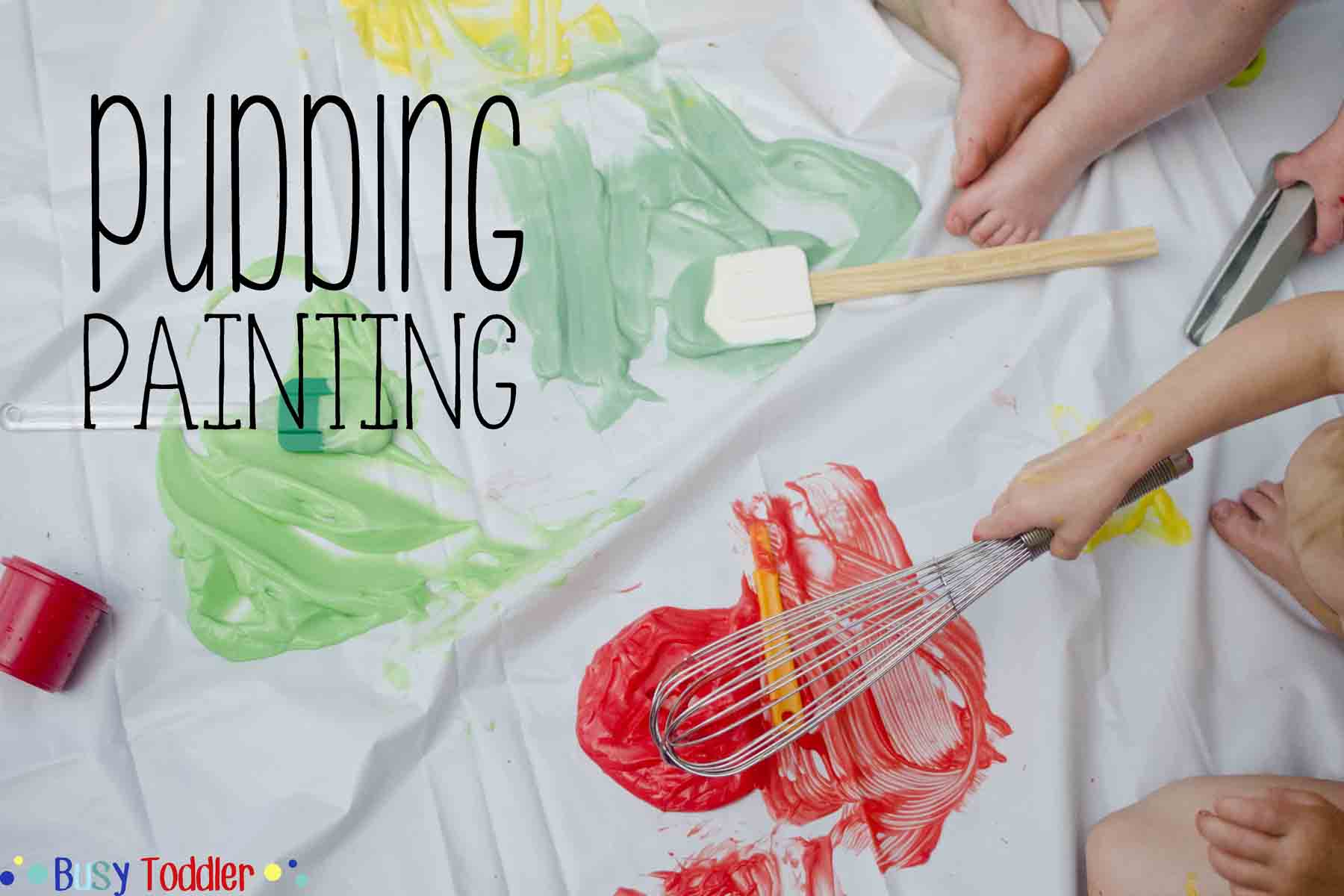 8 awesome and messy play date activities for toddlers/