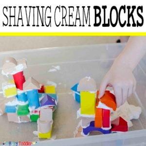 Shaving Cream Blocks