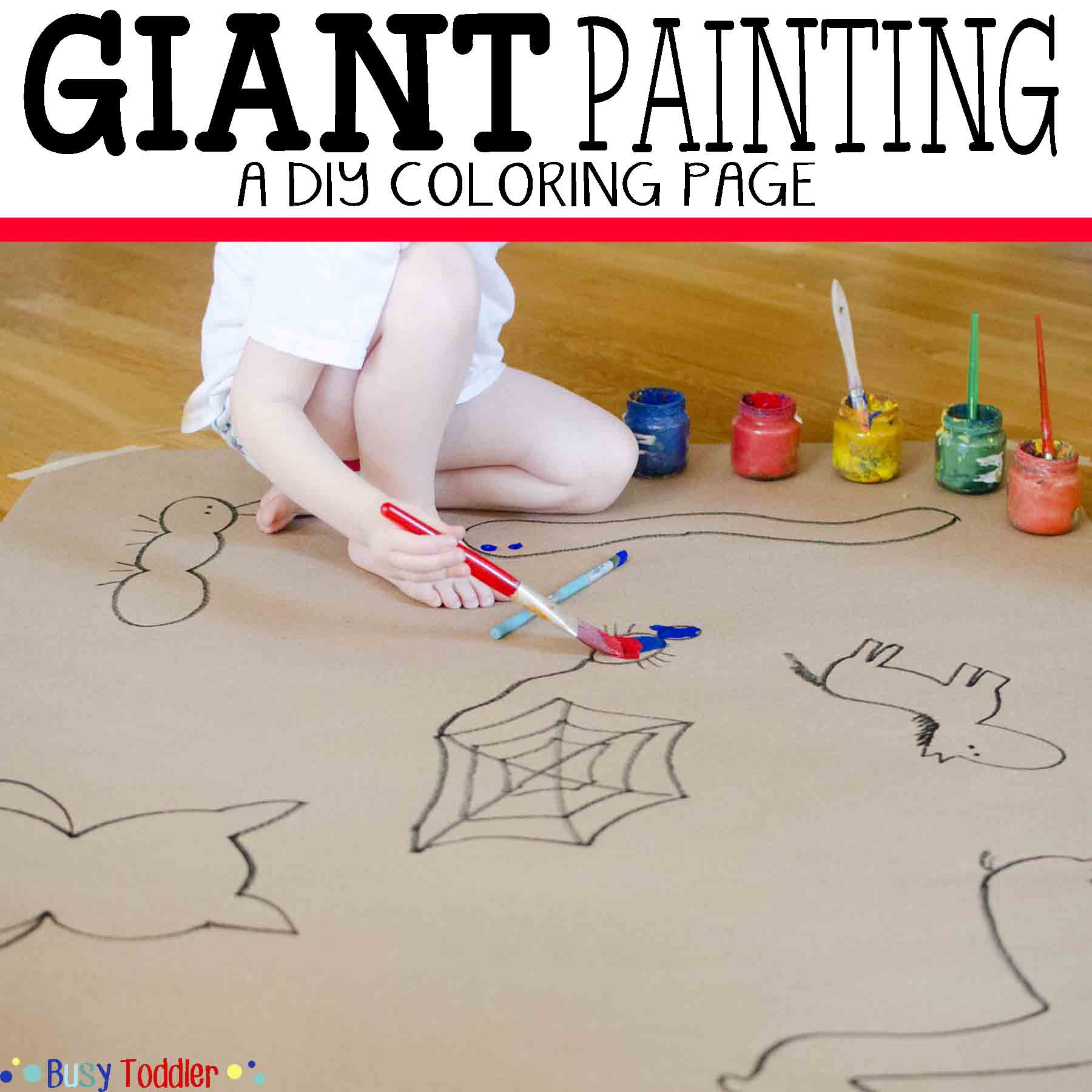 Giant Painting Art Project