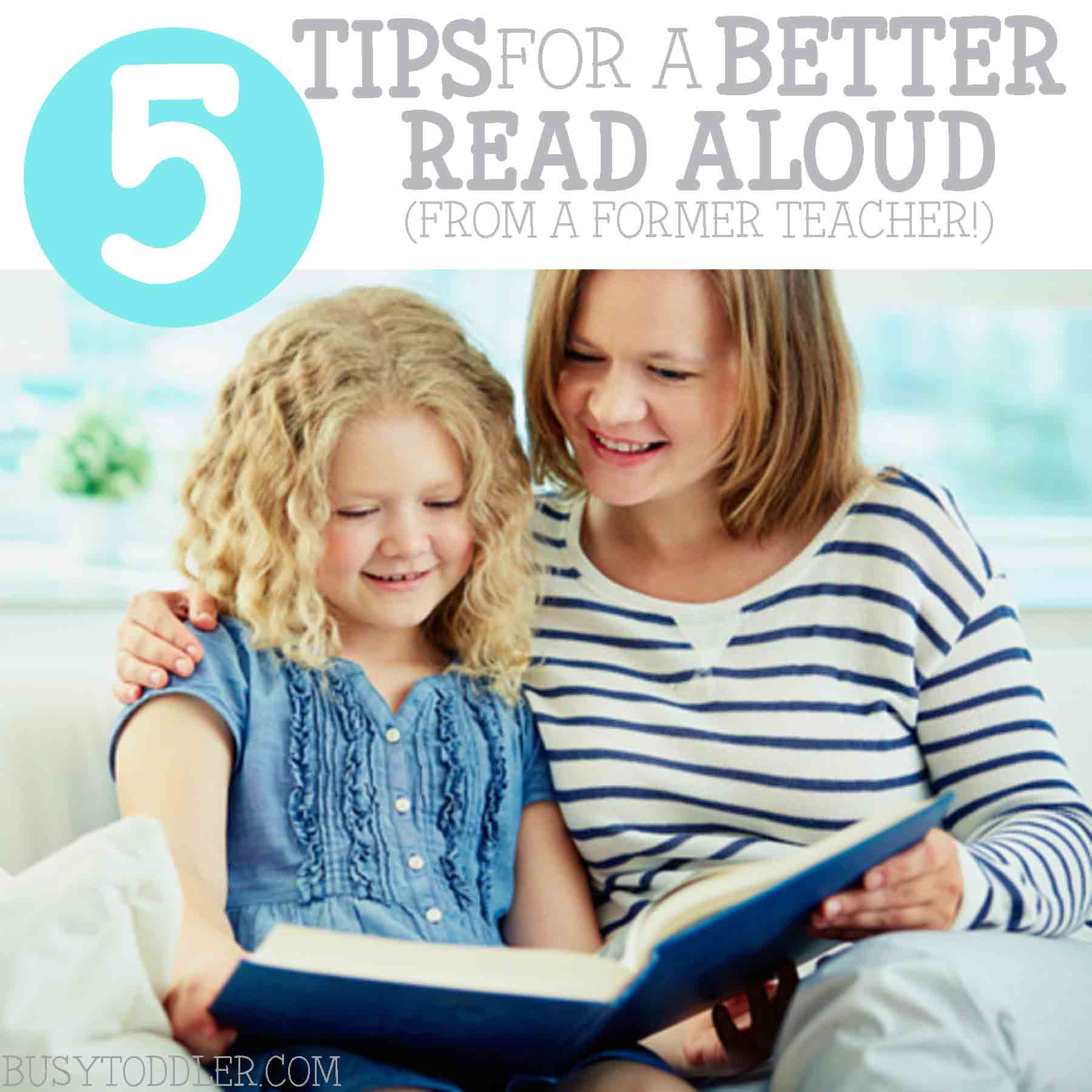 5 Tips for Reading Aloud to Kids