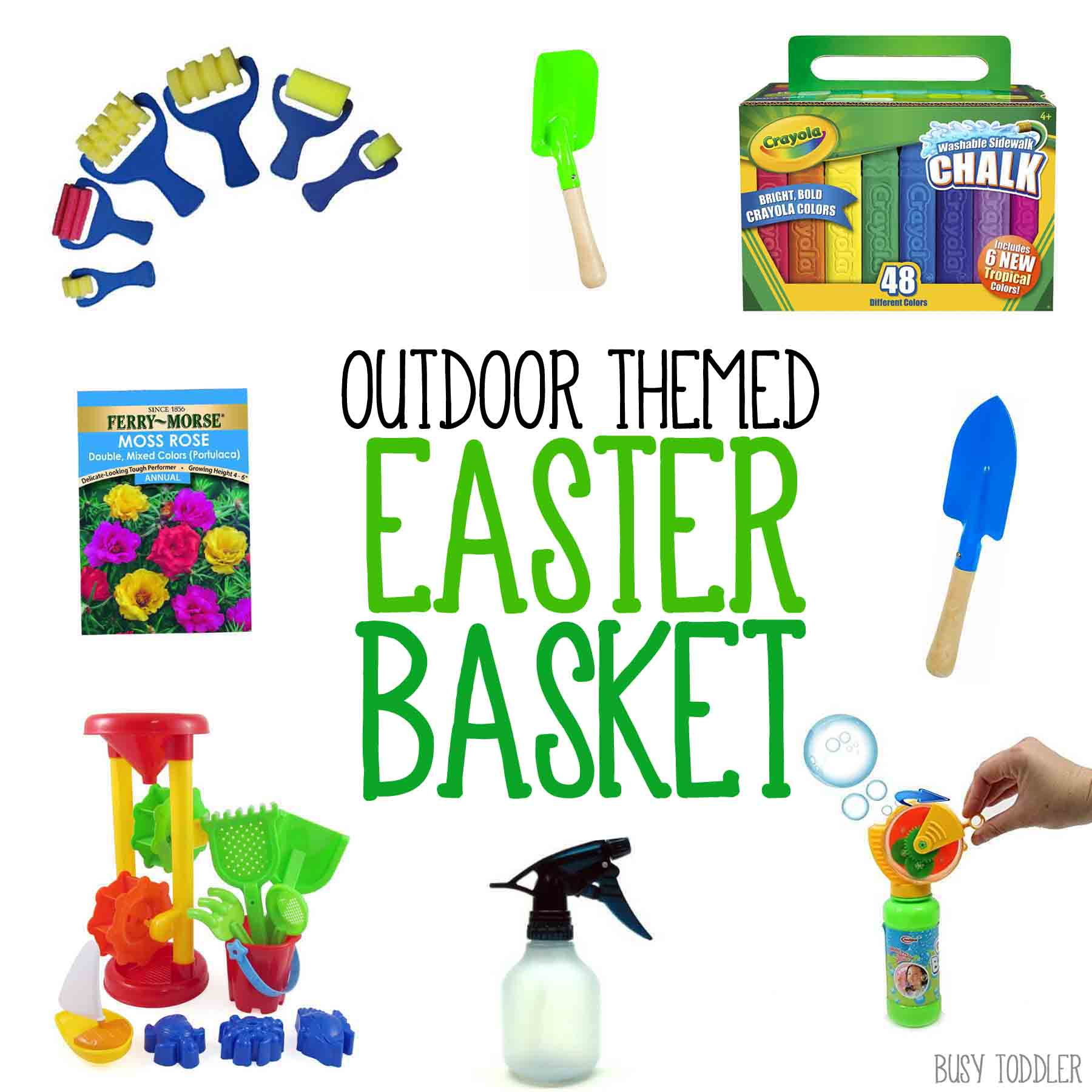 Outdoor Themed Easter Basket