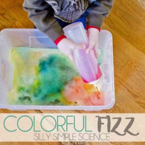 Colorful Fizz: Simple Toddler Science