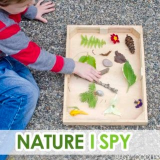 Nature I-Spy with Toddlers