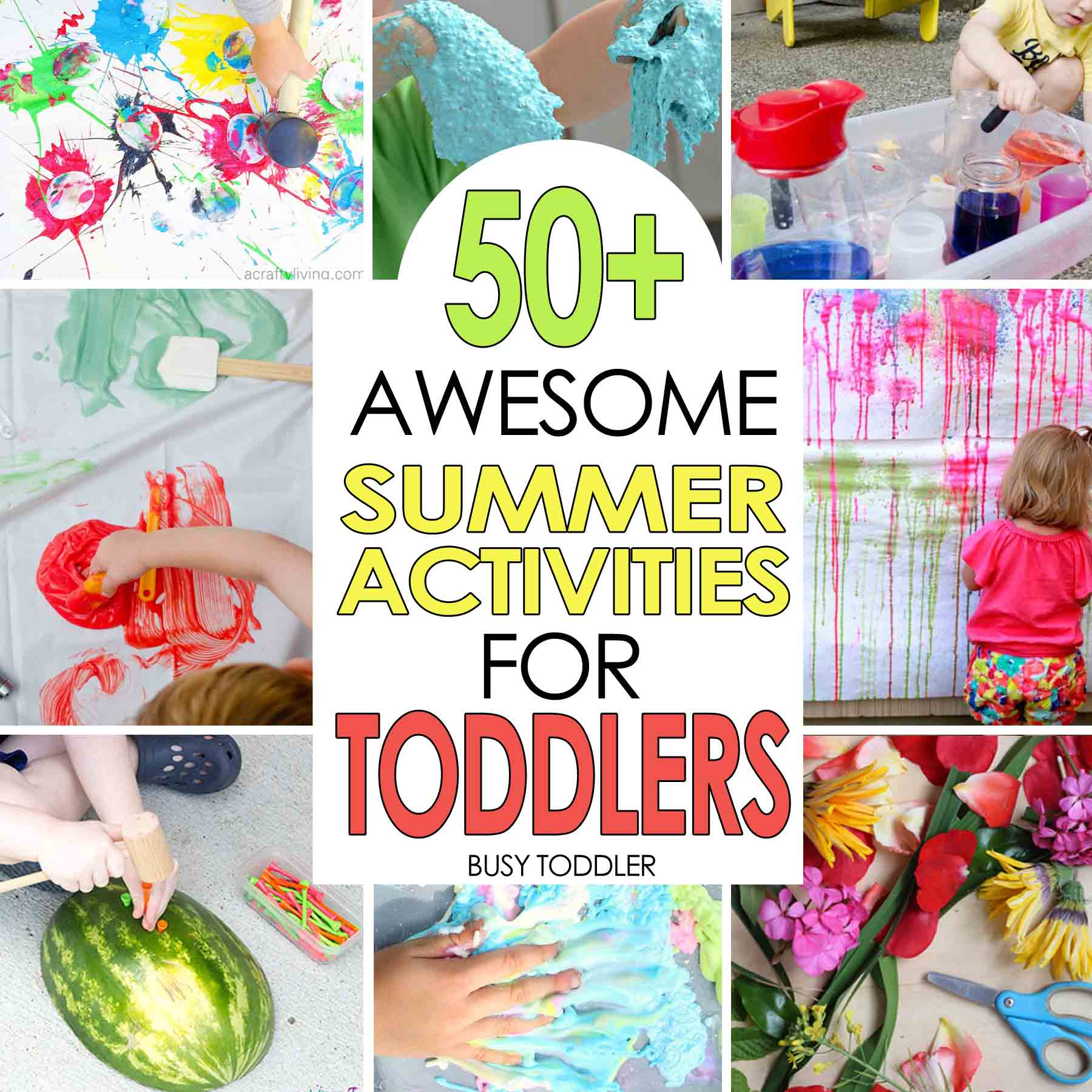 50+ Awesome Summer Activities for Toddlers - Busy Toddler