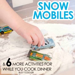 Snow Mobiles Sensory Activity