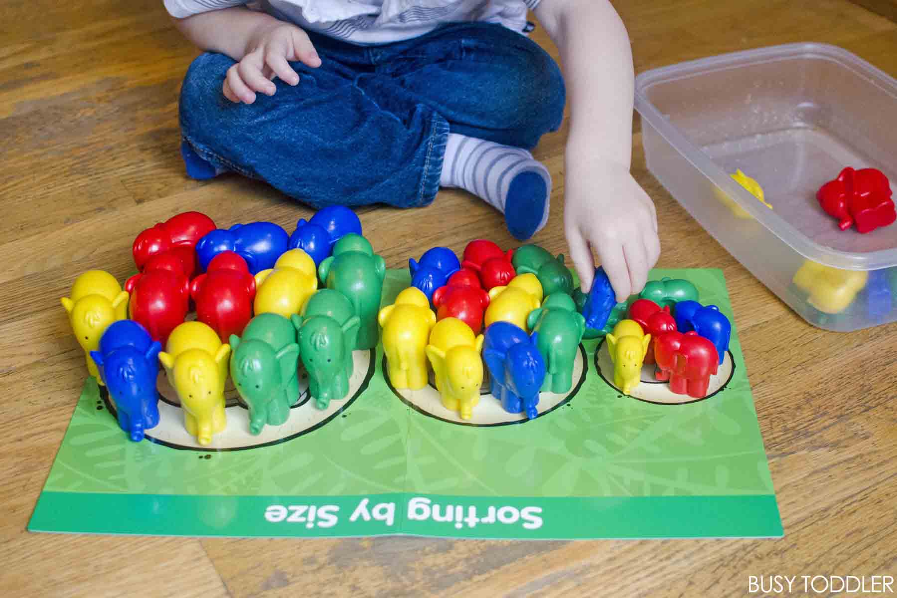 Early Learning: Math with Toddlers - Busy Toddler