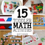 15 Toddler Math Activities