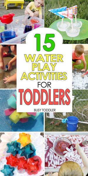 SUMMER ACTIVITIES FOR TODDLERS: Check out these 50+ easy activities for toddlers - sensory activities, art activities, fun activities, outdoor activities that toddlers love (compiled by Busy Toddler)