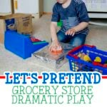 Let's Pretend: Grocery Store Dramatic Play