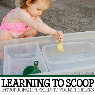 Learning to Scoop: a practical life skill