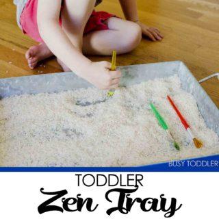 Toddler Zen Tray
